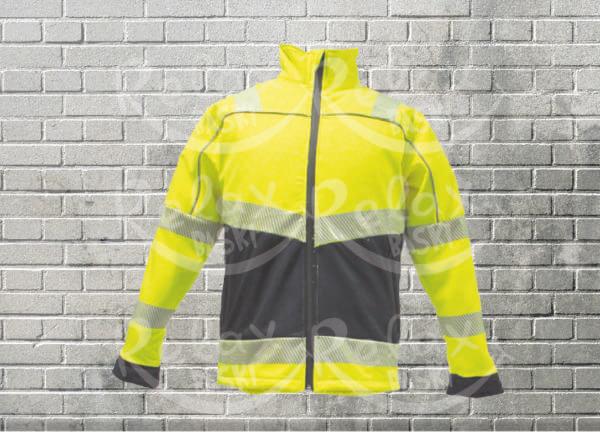 iş güvenliği softshell ceket